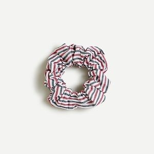 3/$25 J. Crew Striped Scrunchie Red White Blue